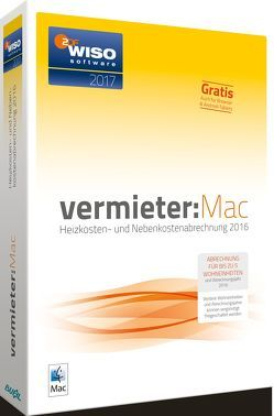 WISO Vermieter:Mac 2017 von Buhl Data Service GmbH