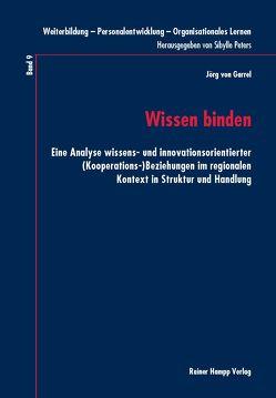 Wissen binden von Garrel,  Jörg von