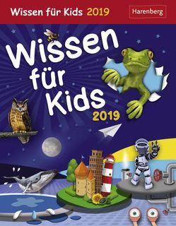 Wissen für Kids – Kalender 2019 von Harenberg, Schlitt,  Christine, Sust,  Angelika