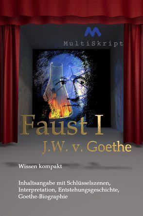 Wissen kompakt: Faust 1 von J. W. von Goethe von Gropper,  Wolfgang, Herfurth-Uber,  Beate, Krahwinkel,  Lars