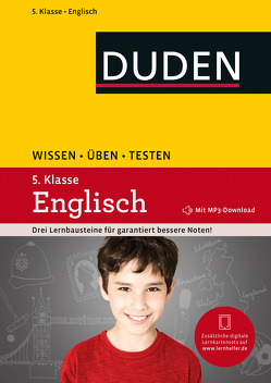Wissen – Üben – Testen: Englisch 5. Klasse von Hock,  Birgit, Steinhauer,  Anja, Wolf,  Meike