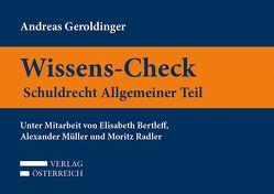 Wissens-Check. Schuldrecht Allgemeiner Teil von Geroldinger,  Andreas