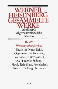 Wissenschaft und Politik von Heisenberg,  Werner
