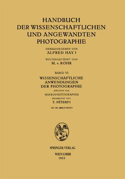 Wissenschaftliche Anwendungen der Photographie von PÉterfi,  Tibor