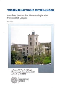 Wissenschaftliche Mittteilungen aus dem Institut für Metereologie der Universität Leipzig von Raabe,  A