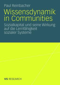 Wissensdynamik in Communities von Reinbacher,  Paul