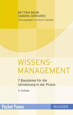 Wissensmanagement von Baum,  Bettina, Gerhards,  Sandra