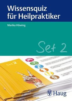 Wissensquiz für Heilpraktiker Set 2 von Höwing,  Marika