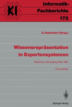 Wissensrepräsentation in Expertensystemen von Rahmstorf,  Gerhard