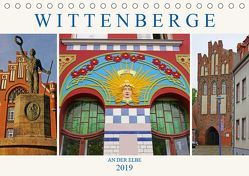 Wittenberge an der Elbe (Tischkalender 2019 DIN A5 quer) von M. Laube,  Lucy