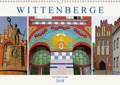 Wittenberge an der Elbe (Wandkalender 2018 DIN A3 quer) von M. Laube,  Lucy