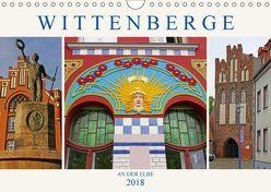 Wittenberge an der Elbe (Wandkalender 2018 DIN A4 quer) von M. Laube,  Lucy