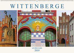 Wittenberge an der Elbe (Wandkalender 2019 DIN A2 quer) von M. Laube,  Lucy