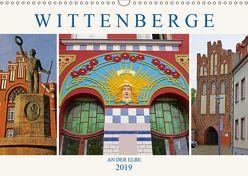 Wittenberge an der Elbe (Wandkalender 2019 DIN A3 quer) von M. Laube,  Lucy