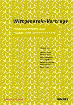 Wittgenstein-Vorträge von Drehmel,  Jan, Jaspers,  Kristina