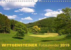 Wittgensteiner Fotokalender 2019 (Wandkalender 2019 DIN A4 quer) von Bücker,  Heidi