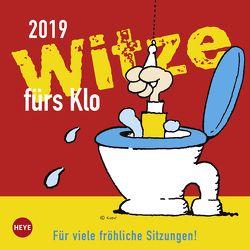 Witze fürs Klo – Kalender 2019 von Heye