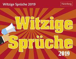 Witzige Sprüche – Kalender 2019 von Dilling,  Jochen, Harenberg
