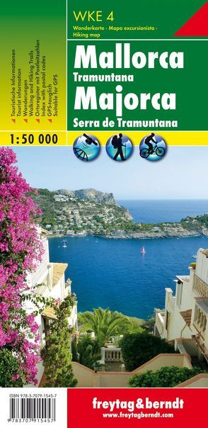WK E4 Mallorca – Tramuntana, Wanderkarte 1:50.000