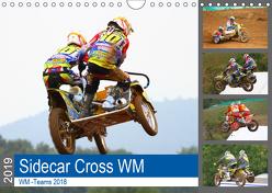 WM Sidecarcross (Wandkalender 2019 DIN A4 quer) von MX-Pfau