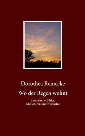 Wo der Regen wohnt von Reinecke,  Dorothea