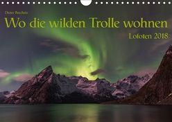 Wo die wilden Trolle wohnen – Lofoten 2018 (Wandkalender 2018 DIN A4 quer) von Brecheis,  Dieter