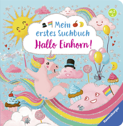 Mein erstes Suchbuch: Hallo Einhorn! von Penners,  Bernd, Teichmann,  Meike