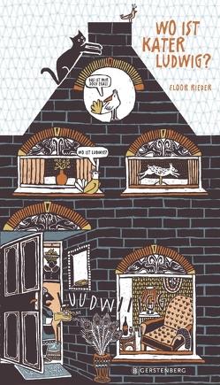 Wo ist Kater Ludwig? von Kiefer,  Verena, Rieder,  Floor