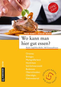 Wo kann man hier gut essen? von Schütz,  Erich, Weber,  Njoschi