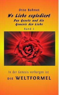 Wo Liebe explodiert – das Gesetz und die Genesis der Liebe Band 2 von Bohnet,  Otto