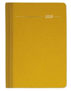 Wochen-Minitimer 192 Seiten Silk Line Gold 2020 – Bürokalender – Buchkalender A6 (10,7 x 15,2) – 1 Woche 2 Seiten – 192 Seiten – Notizbuch von ALPHA EDITION