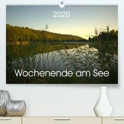 Wochenende am See (Premium, hochwertiger DIN A2 Wandkalender 2020, Kunstdruck in Hochglanz) von Andreas Lederle,  Kevin