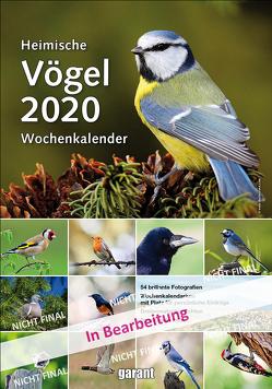 Wochenkalender Heimische Vögel 2020
