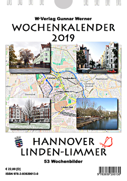 Wochenkalender 2019 Hannover Linden-Limmer von OpenStreetMap Mitwirkende,  Daten: Open Data Commons Open Database BY-SA 2.0, Werner,  Gunnar