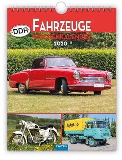 "Wochenkalender "" DDR-Fahrzeuge"" 2020"
