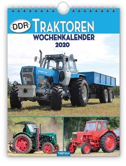 """Wochenkalender """" DDR-Traktoren"""" 2020"""