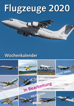 Wochenkalender Flugzeuge 2020
