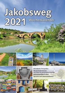 Wochenkalender Jakobsweg 2021