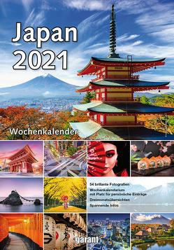 Wochenkalender Japan 2021