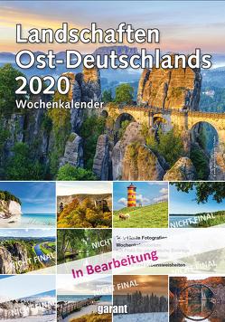 Wochenkalender Landschaften Ostdeutschlands 2020