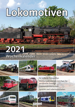 Wochenkalender Lokomotiven 2021