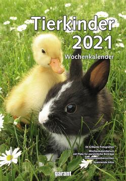Wochenkalender Tierkinder 2021