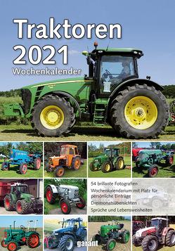 Wochenkalender Traktoren 2021