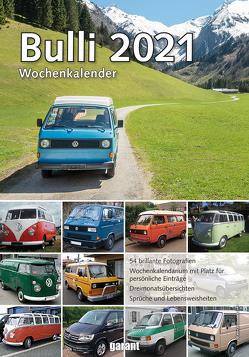 Wochenkalender VW Bulli 2021