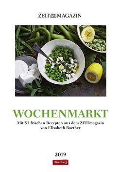 Wochenmarkt – Kalender 2019 von Harenberg, Raether,  Elisabeth