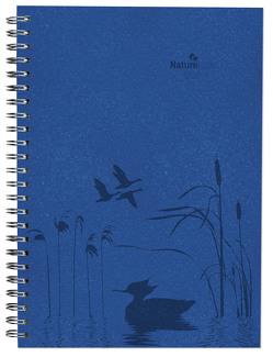 Wochenplaner Nature Line Ocean 2020 – Bürokalender – Taschenplaner A5 – 1 Woche 2 Seiten – Ringbindung – 128 Seiten – Umweltkalender – Notizbuch von ALPHA EDITION