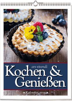 Wochenwandkalender: Kochen & Genießen-Kalender 2019