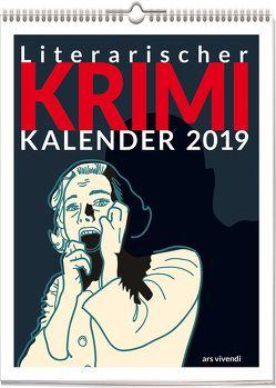 Wochenwandkalender: Literarischer Krimi-Kalender 2019