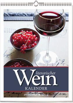 Wochenwandkalender: Literarischer Wein-Kalender 2019