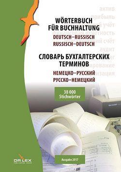 Wörterbuch für Buchhaltung Deutsch-Russisch Russisch-Deutsch von Kapusta,  Piotr